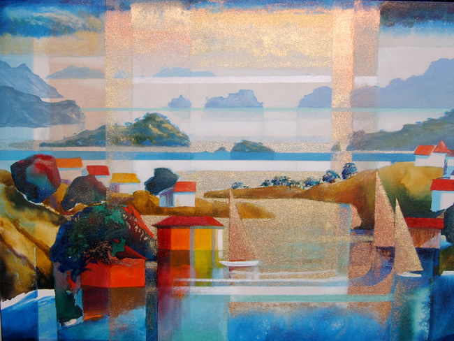 Harold coop new zealand landscape paintings and art for Www painting com